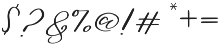 Sweet Jasmine (null) otf (400) Font OTHER CHARS