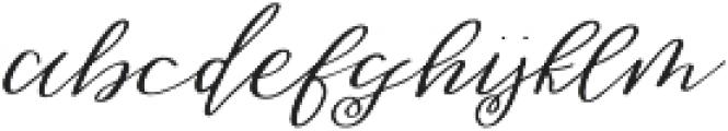 Sweet Jasmine (null) otf (400) Font LOWERCASE