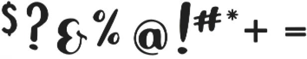 Sweet Melissa Script otf (400) Font OTHER CHARS