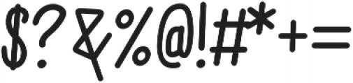 Sweet Melody Medium otf (500) Font OTHER CHARS