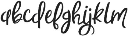 Sweet Nothings Script otf (100) Font LOWERCASE
