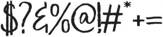 Sweet Saturday Sans otf (400) Font OTHER CHARS