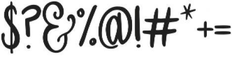 Sweet Slice otf (400) Font OTHER CHARS