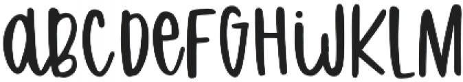 Sweet Slice otf (400) Font LOWERCASE