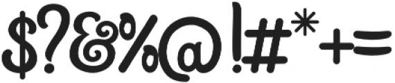 Sweet Talk otf (400) Font OTHER CHARS