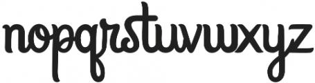 Sweet Talk otf (400) Font LOWERCASE
