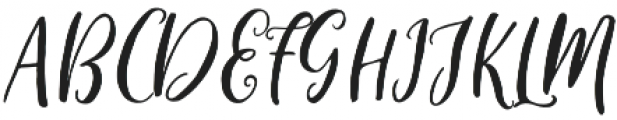 Sweet cleverda otf (400) Font UPPERCASE