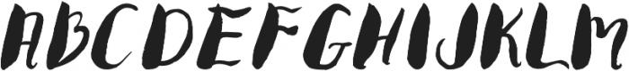 Sweet otf (400) Font LOWERCASE