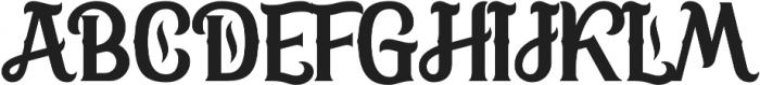 SweetRum Base otf (400) Font UPPERCASE