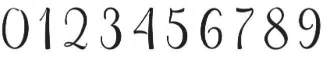 Sweetgentle otf (400) Font OTHER CHARS