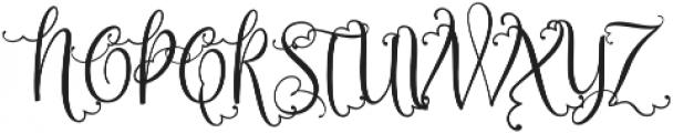 Sweetgentle ttf (400) Font UPPERCASE
