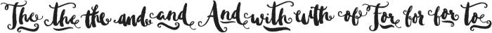 Sweetgrass Catchwords otf (400) Font LOWERCASE