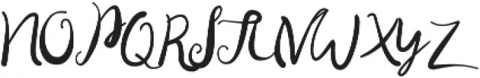 Sweethart otf (400) Font UPPERCASE