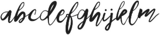 Sweethart otf (400) Font LOWERCASE
