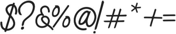 Sweetland otf (400) Font OTHER CHARS