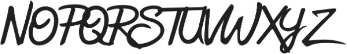Sweetland otf (400) Font UPPERCASE