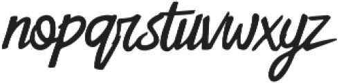 Sweetland otf (400) Font LOWERCASE
