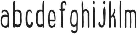 Sweetness Regular otf (400) Font LOWERCASE