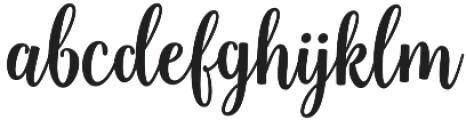 Sweetness Script otf (400) Font LOWERCASE