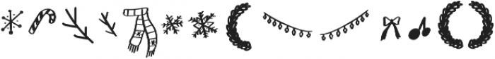 Sweetshy Doodle otf (400) Font LOWERCASE