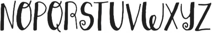 Sweetstuff otf (400) Font UPPERCASE