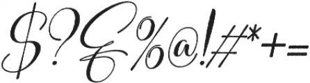 Sweitenia Rough Slanted ttf (400) Font OTHER CHARS