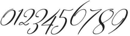 Sweitenia Slant otf (400) Font OTHER CHARS