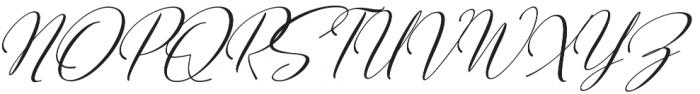 Sweitenia Slant otf (400) Font UPPERCASE