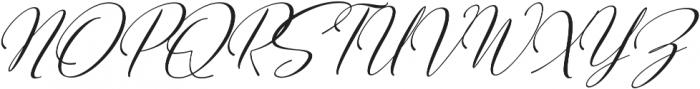 Sweitenia Slant ttf (400) Font UPPERCASE
