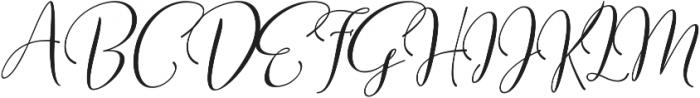 Sweitenia Slanted ttf (400) Font UPPERCASE