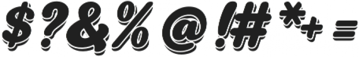 Swiftel Shadow otf (400) Font OTHER CHARS