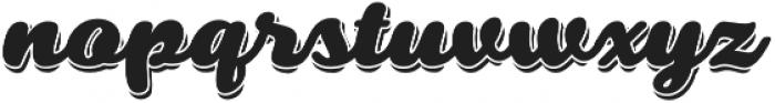 Swiftel Shadow otf (400) Font LOWERCASE