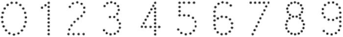 Swim Cap Dots Large otf (400) Font OTHER CHARS