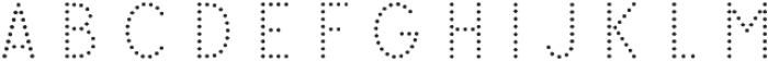 Swim Cap Dots Large otf (400) Font UPPERCASE