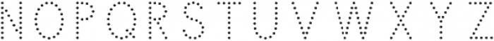 Swim Cap Dots Large otf (400) Font LOWERCASE