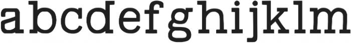Swindale Regular otf (400) Font LOWERCASE
