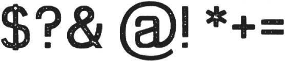 Swindale Sans Rough Regular otf (400) Font OTHER CHARS