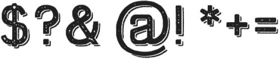 Swindale Sans Rough Sh Regular otf (400) Font OTHER CHARS