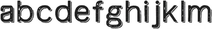 Swindale Sans Rough Sh Regular otf (400) Font LOWERCASE
