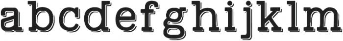 Swindale Sh Regular otf (400) Font LOWERCASE