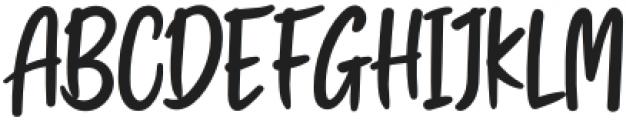 Swingset Regular otf (400) Font UPPERCASE