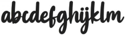 Swingset Regular otf (400) Font LOWERCASE