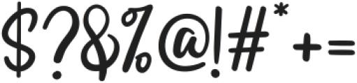 Swingset Regular ttf (400) Font OTHER CHARS