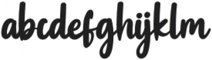 Swingset Regular ttf (400) Font LOWERCASE
