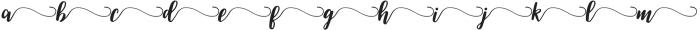 Swsh 1 otf (400) Font LOWERCASE