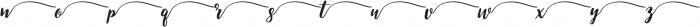 Swsh 3 otf (400) Font LOWERCASE