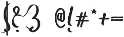 sweet memory 1 Regular otf (400) Font OTHER CHARS