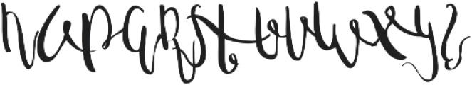 sweet memory 2 ttf (400) Font UPPERCASE