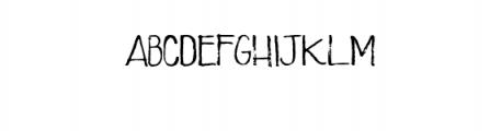 Sweet Saturday Sans.otf Font UPPERCASE