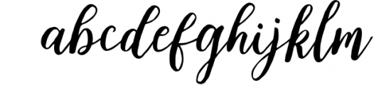 Sweet Cleverda Font LOWERCASE